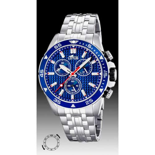 0d2b562e1198 Reloj Lotus 18640 3 de hombre con caja y brazalete de acero ...