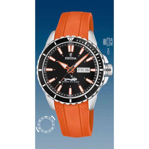 Reloj Police R1451311001 de hombre con caja de acero chapada y correa de piel negra