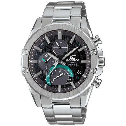 Reloj Casio EQB 1000D 1AER de hombre con caja y brazalete de acero inox colección Edifice Bluetooth