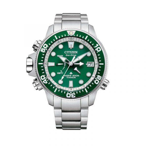 Reloj Citizen Promaster Aqualand Super Titanium Eco-Drive para hombre BN2040-84X