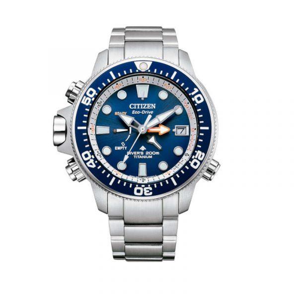 Reloj Citizen Promaster Aqualand Super Titanium Eco-Drive para hombre BN2041-81L
