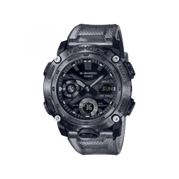 reloj casio gshock para hombre GA-2000SKE-8AER de la colección skeleton