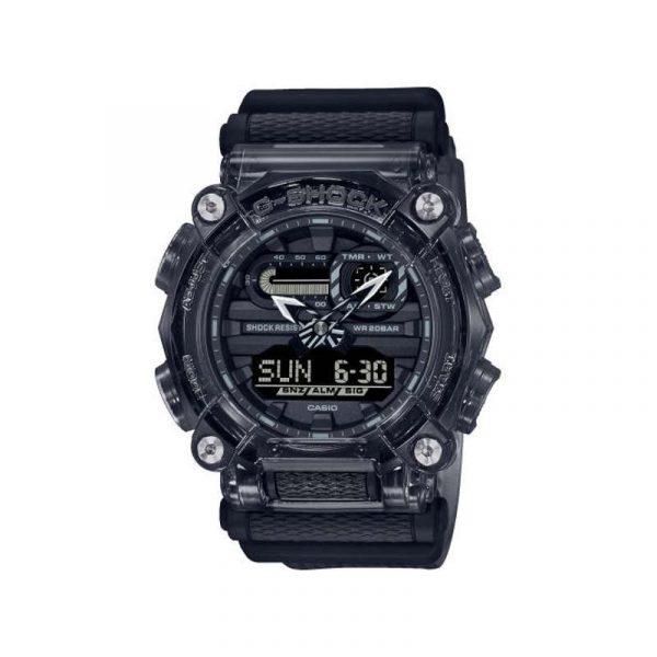 reloj casio gshock para hombre GA-900SKE-8AER de la colección skeleton