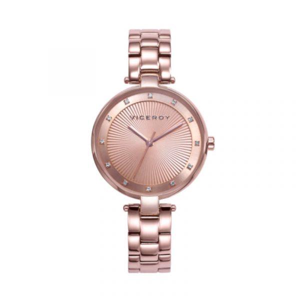 reloj viceroy colección chic para mujer 471300-97 analogico de acero