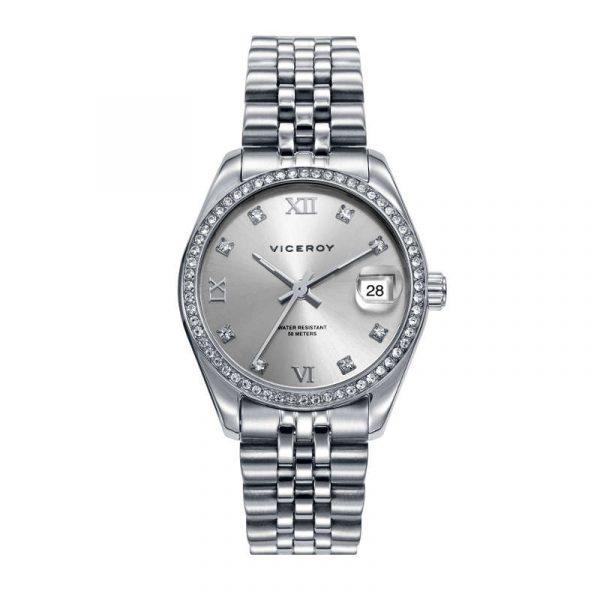 reloj viceroy chic para mujer 42416-83 analógico de acero
