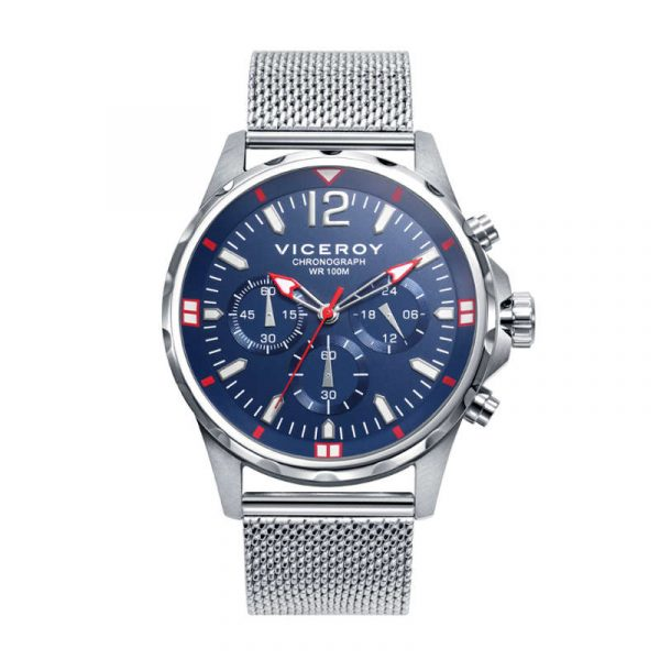 reloj viceroy colección h eat para hombre 401247-35 cronógrafo de acero