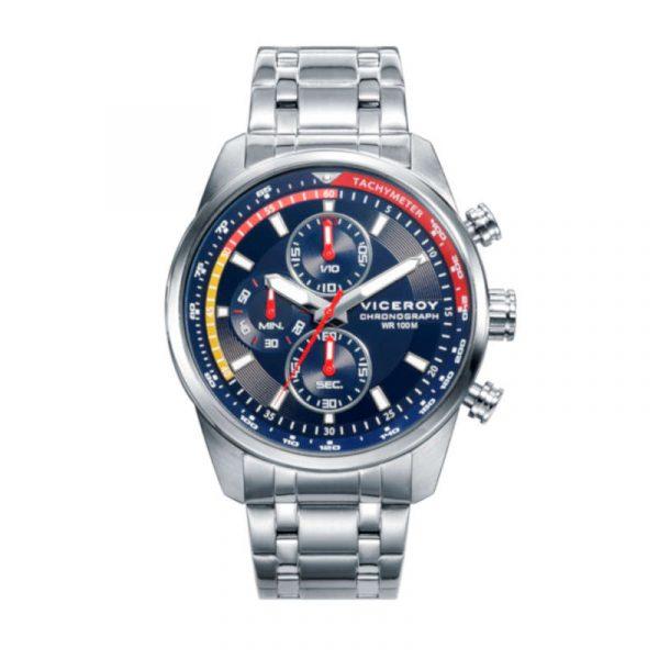 reloj viceroy colección heat para hombre 46671-39 cronografo de acero