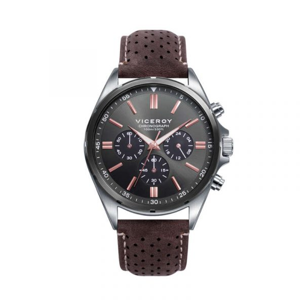 reloj viceroy magnum para hombre 471297-57 analogico con cronografo
