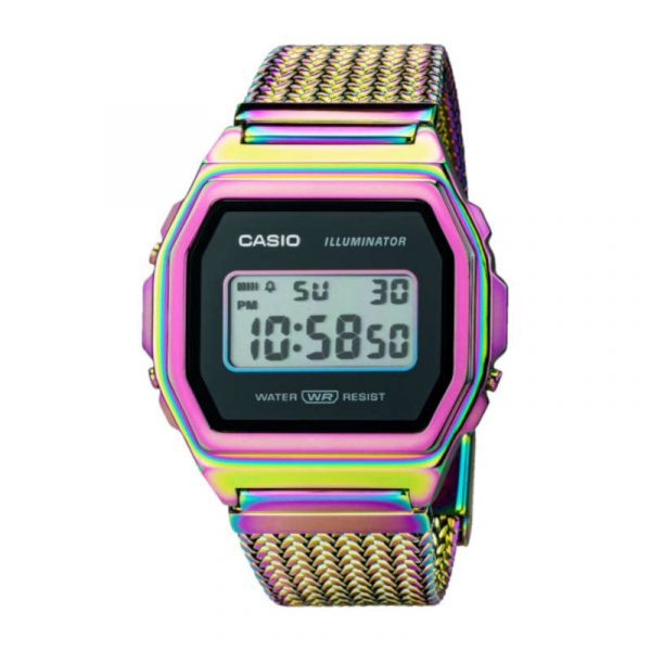 reloj casio vintage collection iconic A1000PRW-1ER