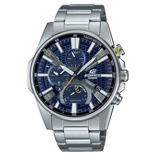 reloj casio edifice bluetooth hombre EQB-1200D-2AER