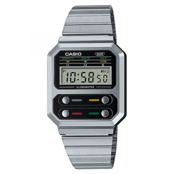 reloj casio vintage collection unisex A100WE-1AEF