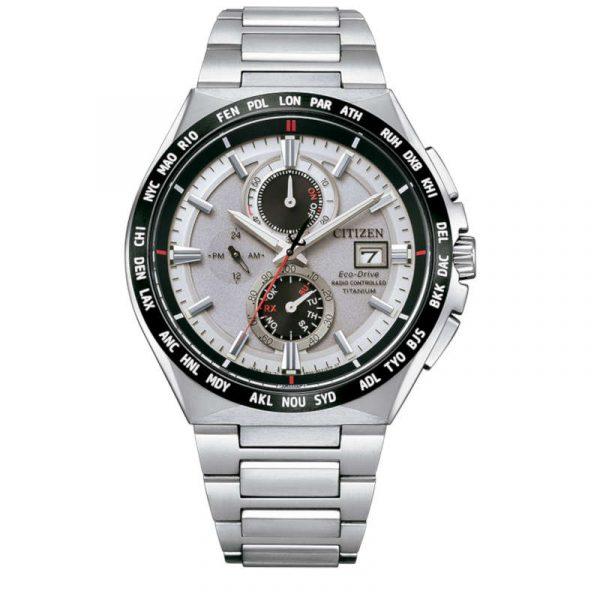 reloj citizen AT8234-85A radiocontrolado ecodrive super titanium