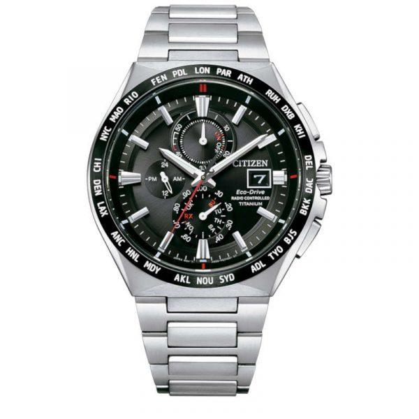 reloj citizen ecodrive super titanium radiocontrolado hombre AT8234-85E