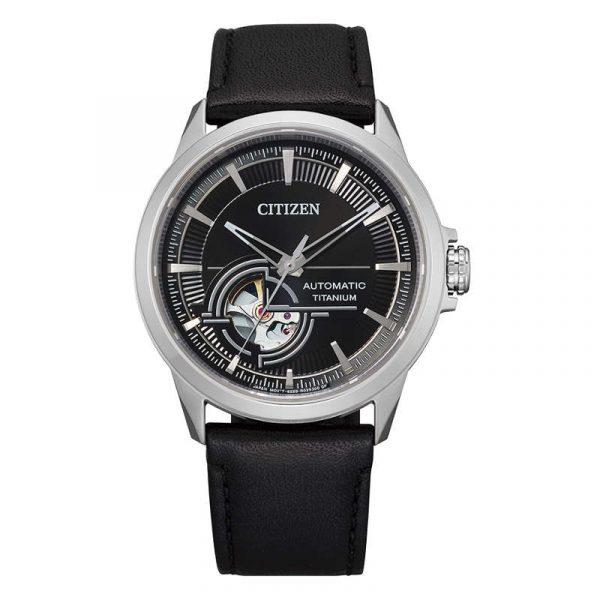 reloj citizen automatic super titanium hombre NH9120-11E