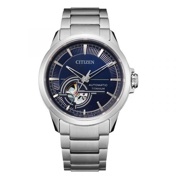 reloj citizen automatic super titanium hombre NH9120-88L