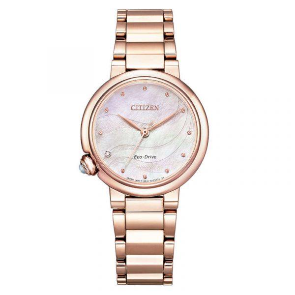 reloj citizen ecodrive lady mujer EM0912-84Y