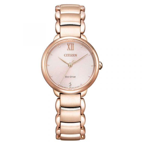 reloj citizen ecodrive lady mujer EM0922-81X
