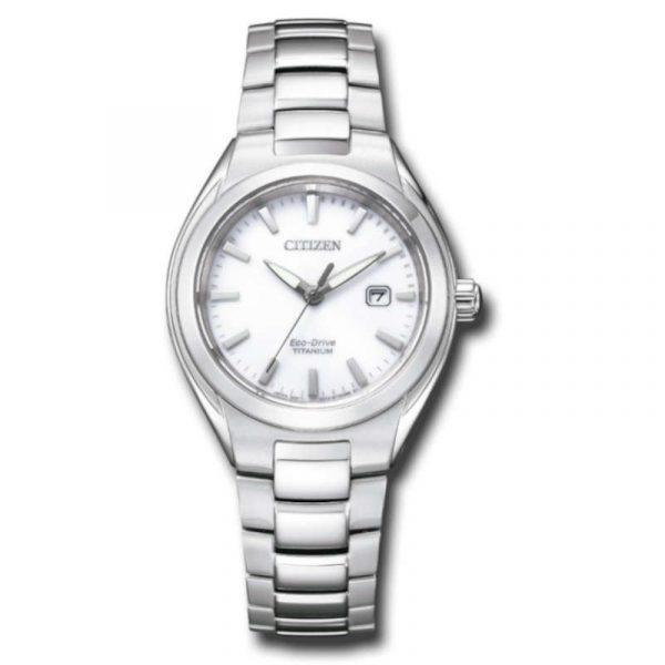 reloj citizen ecodrive super titanium mujer EW2610-80A