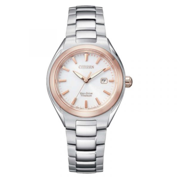 reloj citizen ecodrive super titanium mujer EW2616-83A