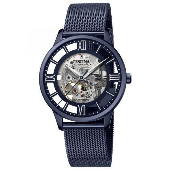 reloj festina automatic skeleton hombre F20574/1
