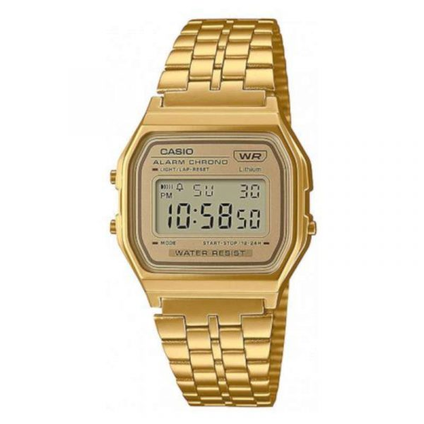 reloj casio vintage unisex A158WETG-9AEF